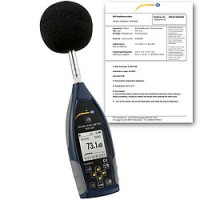 Class 2 Data-Logging Decibel Meter with Certificate PCE-428 | دسیبل سنج