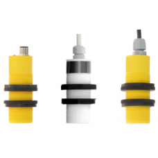 Inductive Sensor with threaded plastic housing