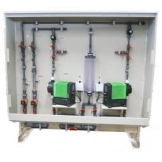 سیستم کلرزنی دوزینگ گراندفوس همراه با قطعات یدکی / Grundfos dosing and chlorinator system spare parts