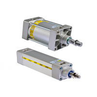 IS (ISO15552) Series Pneumatic Cylinders- MAG - MERT Akiskan Gucu