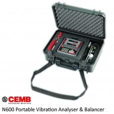 سنسور و آنالیزور ارتعاشات جمب / Cemb Portable Vibration Analyzer and Balancer N600