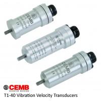 CEMB  Velocity Transducer T1-40 Series / مبدل سرعت (ترنسدیوسر) الکترودینامیک جمب